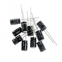 Electrolytic Capacitor 4.7UF/400V  DIY Project (10PCS)