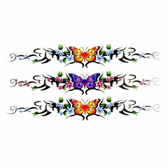 1pc Butterfly Bracelet Waterproof Tattoo Sample Mold Temporary Tattoos Sticker for Hand Wrist(18.5cm*8.5cm)