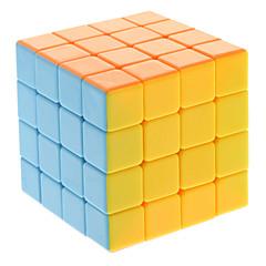 Qiji® Tasainen nopeus Cube 4*4*4 Nopeus / Professional Level Rubikin kuutio Sateenkaari Anti-pop / säädettävä jousi ABS