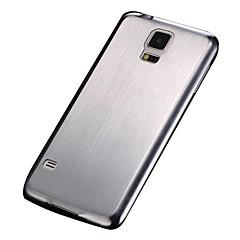 hard case de alumínio escovado para i9600 samsung galaxy s5
