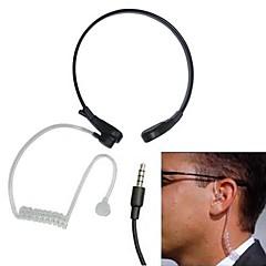 iphoneサムスンのためのマイクとアンチノイズ喉センス空気伝導ヘッドホンをネックバンド