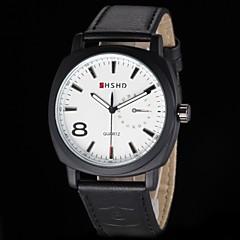 Men's Army Design Leather Band Quartz Wrist Watch(Assorted Colors) Cool Watch Unique Watch