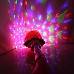 coway発光音楽投影魔法の杖