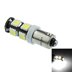 BA9S(T4W W6W) 4.5W 9X5060SMD 280-360LM 6500-7500K White Light for Car Sigle Lamp(DC12-16V)