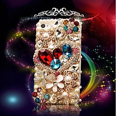Love  Models with  Diamond Hard Back hoesje for iPhone 5 / 5S