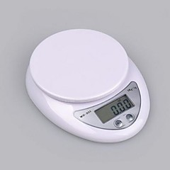 Digital Kitchen Food Diet Postal Scale 5kg 5000g 1g 16X13X3.5cm