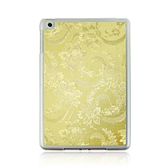 Flower Pattern PC Hard Case with Transparent Frame for iPad mini 1/2/3