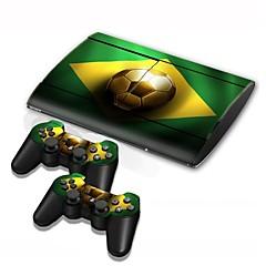 B-skin® PS3 슬림 4000 콘솔 보호 스티커 커버 피부 컨트롤러 피부 스티커