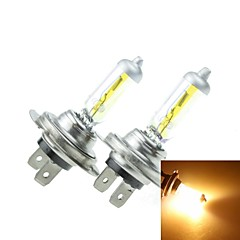 H7 PX26D 100W Plated Yellow for Car Headlights Headlights Fog Lights 12V(2PCS)