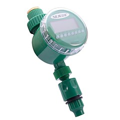 sistema electrónico neje jardín lcd temporizador agua de riego