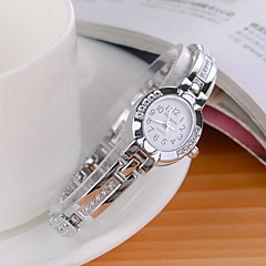 Women's Fashionable Style Alloy Analog Quartz Bracelet Watch