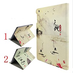 Tiandirenhe Ink Jiangnan Design Models Stand Sleep Holster for iPad 2/3/4