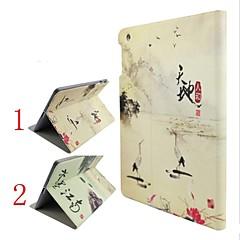 Tiandirenhe Ink Jiangnan Design Models Stand Sleep Holster for iPad iPad/2/3/4