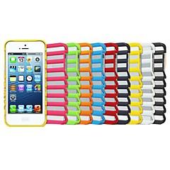 야곱의 사다리 프로스트 중공 셔터 패턴 플라스틱 재료는 아이폰 5 / 5S (모듬 색상)를 포함 사랑