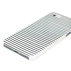 Black & White Stripes Pattern Hard Case for iPhone 4/4S