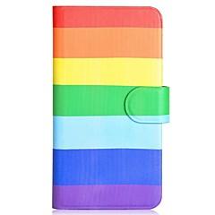 pattern pu coldre de telefone celular com slot para cartão de iPhone 5 / 5s