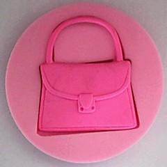 Handbag Fondant Cake Silicone Mold Cake Decoration Tools,L7cm*W7cm*H1.3cm