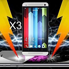 ultime protecteur d'écran d'absorption de choc pour HTC One M7 (3 pcs)