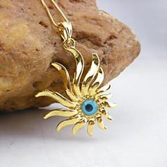 18K Golden Plated Evil Eye Pendant