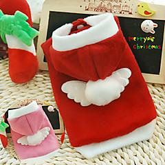Schöne Weihnachtsengel Pet Hoody mit Kapuze für Haustiere Hunde