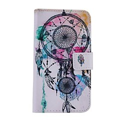 White Bells Pattern PU Leather Full Body Case for Samsung Galaxy S5/I9600