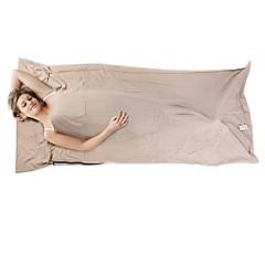 Коврик-пенка / Спальный мешок / Спальный мешок Liner Прямоугольный Односпальный комплект (Ш 150 x Д 200 см) +15°C Хлопок 210cm X 70cm