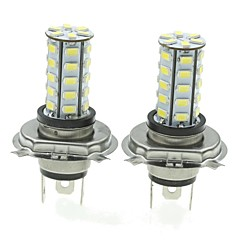 H4 20W 36X5730SMD 800-1200LM 6000-6500K White Light Led Bulb for Car Fog Lamp(A pair/AC12-16V)