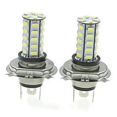 h4 20w 36x5730smd 800-1200lm 6000-6500k luz branca levou lâmpada para lâmpada de nevoeiro carro (um par / ac12-16v)