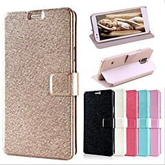 Smooth Silk Pattern with Card Bag PU Full Body Case for Samsung Galaxy Note 4 (Assorted Color)