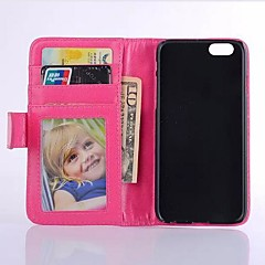 Candy Color Full Body PU Leather Case with Card Slot and Wallet Function for iPhone 4/4S(Assorted Colors)