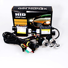 12V 55W H4 Hid Xenon High / Low Conversion Kit 10000K