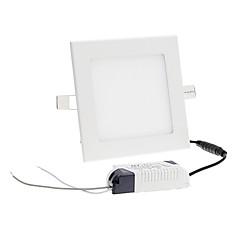 9w 45xsmd 2835 800-900lm 6000-7000k hideg fehér fényű LED squre mennyezeti lámpa (ac 85-265)