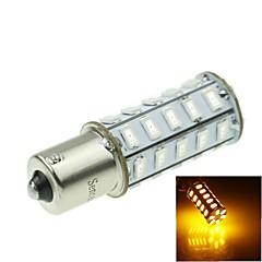 1156 20w 36x5730smd luz amarela 800-1200lm levou lâmpada para carro turno lâmpada (1pcs / ac12-16v)