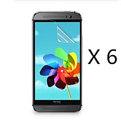 (6 unidades) protetor de tela de alta definição para o HTC One m8