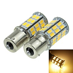 1156 (P21W Ba15s) 12W  2-Mode Amber 1000LM 3000K for Car Brake Light (DC12V)