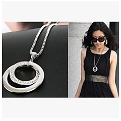 Silver Pendant Necklaces Alloy Wedding / Party / Daily / Casual Jewelry