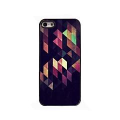 Curve Rhombus Design Aluminium Hard Case for iPhone 4/4S