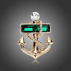 divat haditengerészet horgony bross