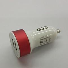 cercle d'aluminium chargeur de voiture USB pour iPhone 3/4/5/6 (couleurs assorties)