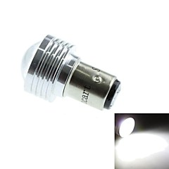 1142 (BA15D) 3W 3COB 220-260LM 6500-7500K White Light LED Bulb for Car Reversing Lamp (DC12V /1pcs)