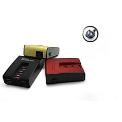 usb station portable byl-3005 5-port de charge pour Smartphone iPhone, pad, tablet (les plug britannique)