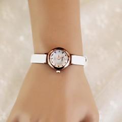 vrouwen ronde snoep kleur kwarts riem horloge (verschillende kleuren)