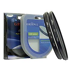 anneau adaptateur pour tube métallique nikon p100 de 67mm et anneau vert UV Lens capuchon de l'objectif de la hotte ensemble