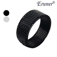 eruner®titanium stål 8mm netty transmutable ringen