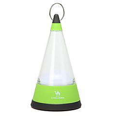 camello 2sc1005 3 modos de luz de la tienda linterna de camping (4 * aa, verde)