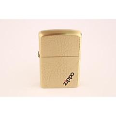 classique métal doré briquets Zippo cube d'eau