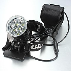 LT-908207 5Mode 6xCREE XM-L T6 Bike Bicycl LED HeadLamp(8400LM.4X18650.Black)