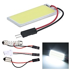 Merdia Festoon 5W COB 4500K 78LM 36SMD LED White Light for Car License Plate Light / Reading Lamp