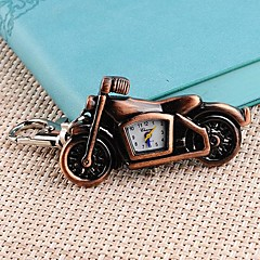Women's Motorcycle Shaped Case Alloy Quartz Necklace Watch (Assorted Colors)