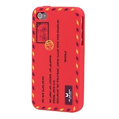 enveloppe étui souple silice pour iPhone 4 / 4S (de couleurs assorties)